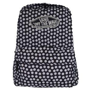Vans Off the Wall Realm Black Backpack -Polka Dots
